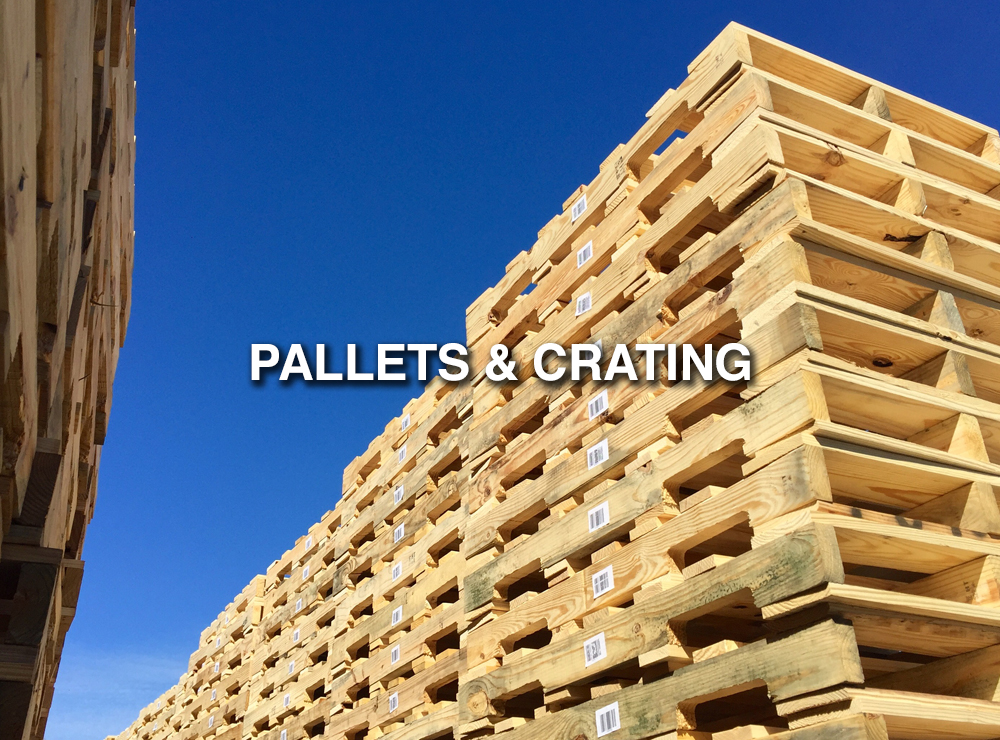 Pallets and Crating